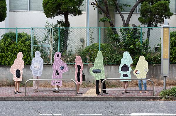 トキタシオン「wrap,2015」 (C)TOKITA Shion トキタシオン
