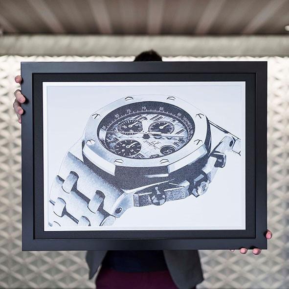 フランス人アーティストのANCHAN氏の個展「BEYOND THE 1st IMPRESSION」