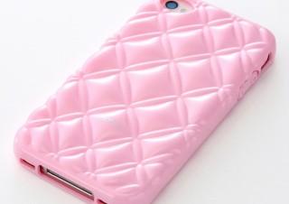 サンワ、キルティング調/バスケット柄の女性向けiPhone 4S/4ケースを発売