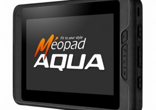 加賀ハイテック、防塵/防水Androidタブレット「Méopad AQUA」を発売