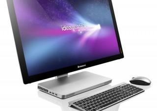 レノボ、Ivy Bridge搭載マルチタッチ液晶ディスプレイ一体型PC「IdeaCentre A720」