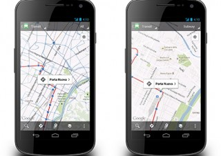 Googleマップの時刻表表示が世界500都市・100万カ所に拡大