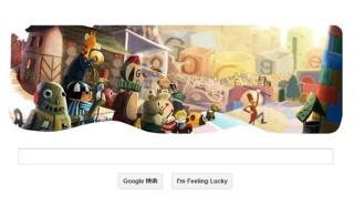 今日のGoogleロゴは2012年末記念