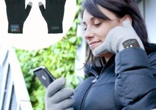 コスモウェブ、指がiPhone5の受話器になる手袋「hi call」発売