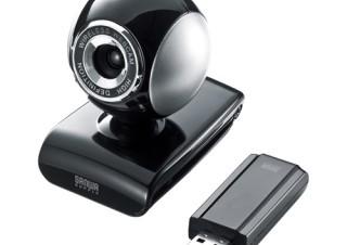 サンワサプライ、PCから離れた場所でも撮影可能なワイヤレスWebカメラ「CMS-V36BK」