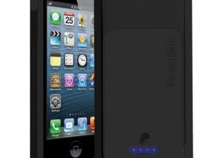 プラネックス、充電式バッテリー内蔵のiPhone5ケース「POWER JACKET」