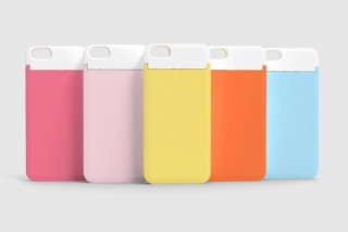 センチュリー、コスメミラーとカード収納機能つきiPhone5ケース