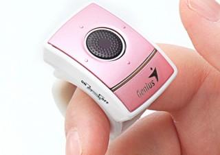 サンワ、指に装着して操作できる無線リングマウスの新色2カラーを限定発売