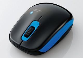 エレコム、NFC搭載のBluetooth3.0対応マウス「M-BT10BBBK/N」を発売