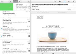 Gmailアプリ「Mailbox」がアップデート、iPadに対応