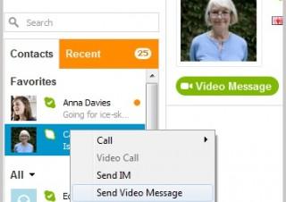 Skype、最大3分のビデオメッセージ機能を正式リリース