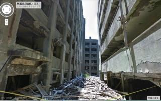 廃墟マニアの聖地「軍艦島」の隅々までGoogleストリートビューで見られるように