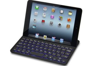 JTT、7色を切り替えられるバックライト搭載のiPad mini用キーボードを発売