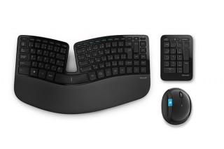 日本マイクロソフト、人間工学デザインのマウスやキーボードセットを発売