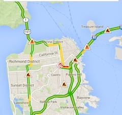 Google、モバイル版Google MapsにWazeの交通情報を表示
