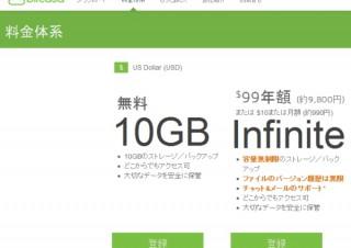 米Bitcasa、年額99ドルの容量無制限オンラインストレージサービスを日本で開始