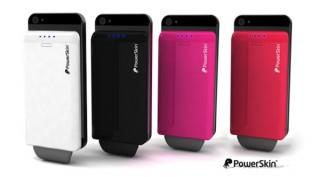 Phone5s/iPhone5cにも対応、ケースに装着できるモバイルバッテリーに新色