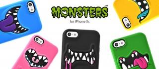 プレアデス、モンスターの口がデザインされたコミカルなiPhone 5cケースを発売