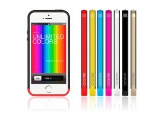 スペック、iPhoneの背中を見せたい人のためのiPhone 5s用軽量バンパーを発売