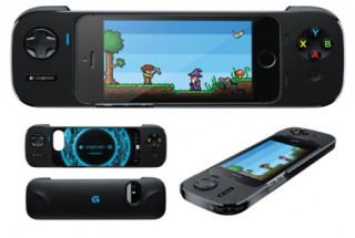 ロジクール、iPhoneを差し込んでゲームを楽しめるバッテリー付きコントローラを発売