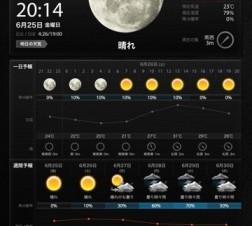 見やすさやデザイン性にこだわった天気予報iPad無料アプリ