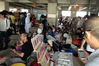IDPW、フリーマーケット「インターネットヤミ市3」をベルリンで開催