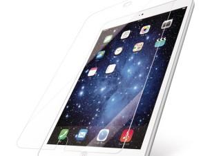エレコム、ガラスのような透明感のiPhone/iPad対応「ガラスライクフィルム」を発売