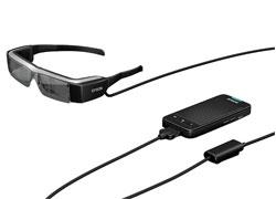エプソン、Android4.0を搭載したメガネ型端末「MOVERIO」を発売