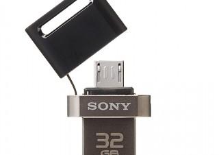 ソニー、AndroidスマホにもPCにも使えるmicroUSB/USB両対応のUSBメモリー