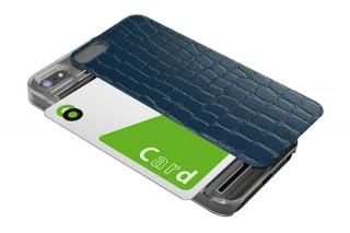 リンクス、スライド式のICカード収納スペース付きiPhone5s.5ケースを発売