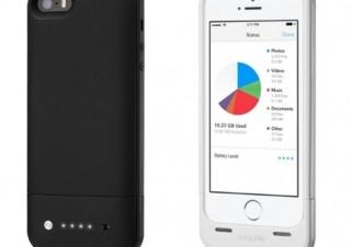 フォーカルポイント、16/32GBのストレージとバッテリ内蔵のiPhone 5s/5用ケース発売