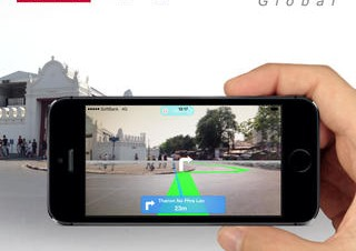 インクリメントP、海外で便利なルート確認アプリ「MapFan AR Global」3/25まで無料に