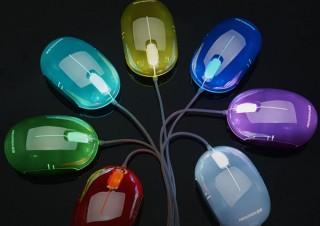 上海問屋、自動で7色に変化するUSB接続式の3ボタン搭載マウスを発売