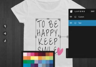 オリジナルTシャツを作れるiPadアプリが公開