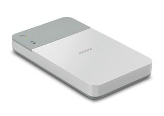 バッファロー、Wi-Fi接続にも対応する外付けHDDを発売