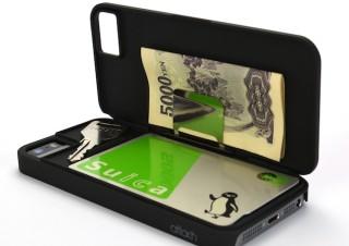 ICカード・お札・小物を収納できるiPhoneケース「iCash」