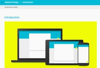 Google、「Material Design」発表