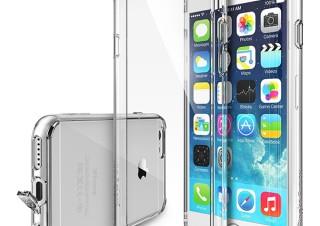 クリアなiPhone6ケース「Ringke Fusion」