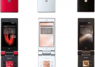 au、4G LTE対応のケータイ「AQUOS K」を発売