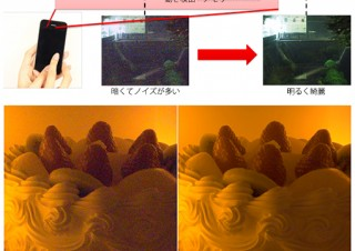 東芝、小型イメージセンサーで高画質を実現する「無限高画質」