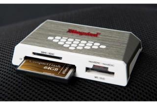 Kingston、USB3.0対応カードリーダーを発表