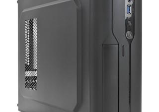 リンクス、250W SFX電源を搭載するスリムPCケース