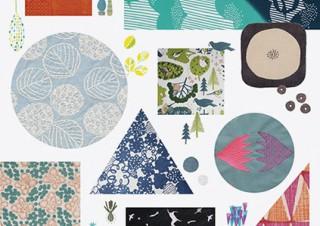 布作りや布使いのアイデアが満載の書籍「かわいい布ものデザイン」