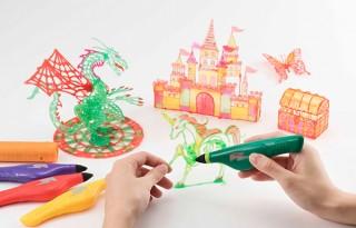 3Dアートを手元で作成できる「3Dドリームアーツペン」を玩具メーカーのメガハウスが発売