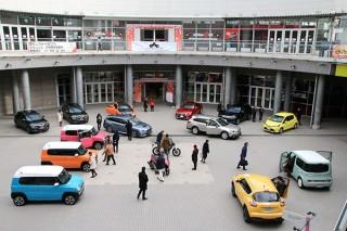 優れたカラーデザイン車両を顕彰する「オートカラーアウォード」でノミネート車が横浜美術館に展示