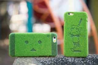 """芝生で""""ダンボー""""を表現、「よつばと!」のコラボiPhoneケースが発売"""
