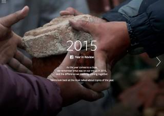 Facebookの2015年は米大統領選やネパール大地震など、日本ではリラックマなども