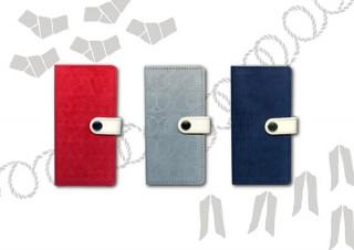 素材に紙を用いたiPhoneケースが登場!空押しで日本の伝統文様の絵柄を表現した3タイプ