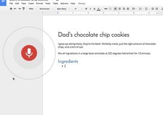 Googleドキュメントの音声入力テキスト編集に改行や削除などの新機能