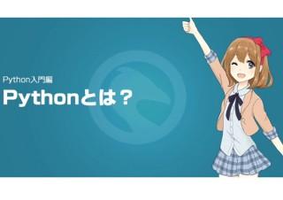 年収1位のプログラミング言語「Python」を美少女が教える無料動画公開